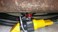 Bilge pumps mounted