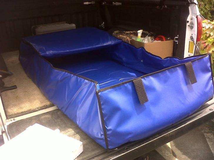 Here Are Some Photos Of The Removable Kill Bag Liner That Guy In Klamath Falls Made To Insulate Fish Box An Aluminum Boat