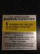 17' Sea Pacer Capacity Sticker