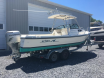 Boat when picking up