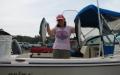 Katherine w/ Buoy 10 coho