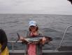 Katherines first tuna!