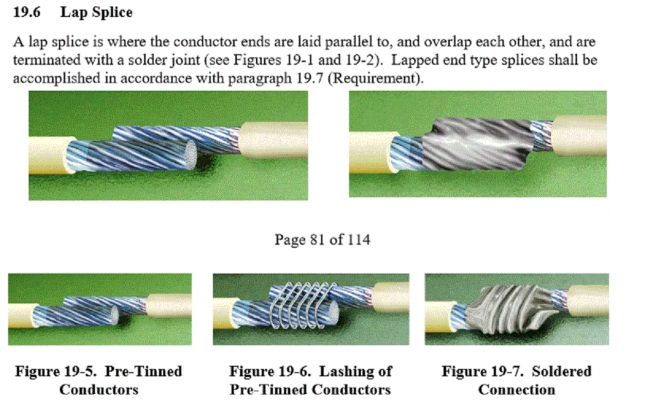 Cute Nasa Wire Splice Gallery - Electrical Circuit Diagram Ideas ...