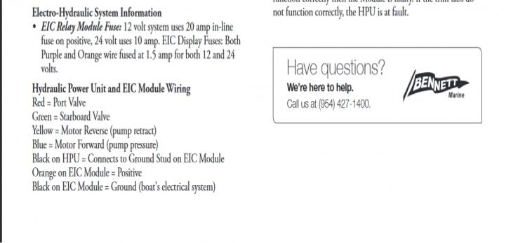 Fine Bennett Trim Tab Wiring Diagram Ideas - The Best Electrical ...